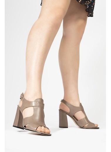 CZ London Sandalet Vizon